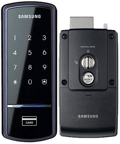 Samsung SHS-1321 Digital Door Lock, RIM Deadbolt, Touchscreen, Keyless