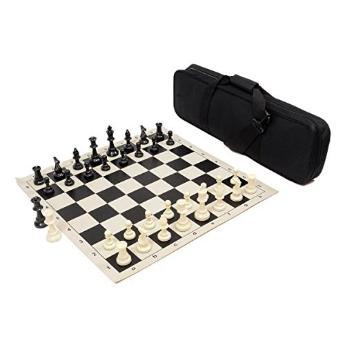 Heavy Tournament Triple Weighted Chess Set Combo