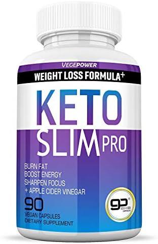 Advanced Keto Fast Diet Pills (BHB+ACV   90 Capsules)-VegePower Keto Slim Pro with Apple Cider Vinegar-Rapid Keto Burn Utilize Fat for Energy/Ketosis, Boost Focus, Manage Cravings for Women Men 3