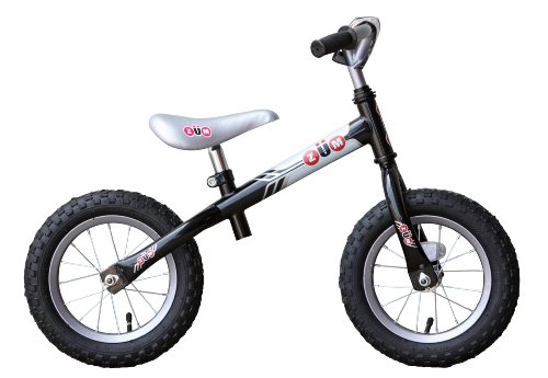 ZÜM SX Metal Balance Bike, Black/Grey