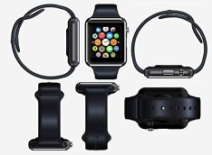 Ispite-Smart-Watch-A1-Black-Bluetooth-Smartwatch-Watch-Android-with-CameraSIM-Card-Slot-Sports-Watch-Compatible-with-All-Mobile-Phones-for-Mens-Boys-and-Girls-Black
