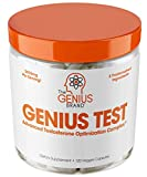 Genius Test - The Smart Testosterone Booster For Men | Natural Energy Supplement, Brain & Libido Support, Fat Loss | Muscle Builder with Ksm-66 Ashwagandha, Shilajit and Tongkat Ali, 120 Veggie Pills