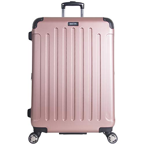 Kenneth Cole Reaction Renegade 28' Hardside Expandable 8-Wheel Spinner Checked Luggage, Rose Gold