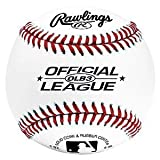 Rawlings Baseballs Official League Recreational Use OLB3, 2 Ball Pack