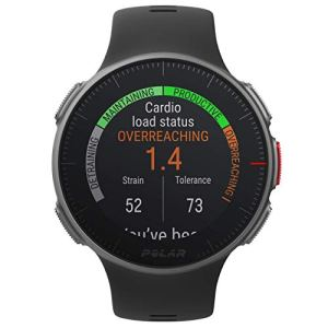 Polar Vantage V - Premium GPS Multisport Watch for Multisport & Triathlon Training (Heart Rate Monitor, Running Power, Waterproof), One Size, Black