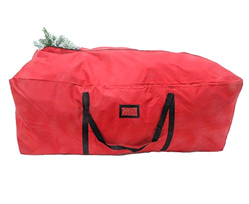 Quick & Carry - Super Large Christmas Tree Storage Duffel Bag, with Premium Quality Stitching, Rip-Stop Design for Rugged Durability, Fits up to 9ft Artificial Tree (Large)