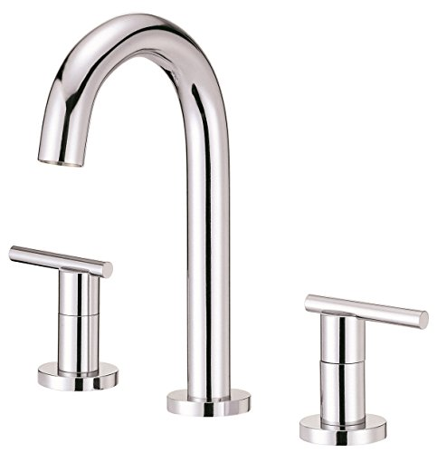 Danze D304658 Parma Widespread Bathroom Faucet with Metal Touch-Down Drain, Chrome