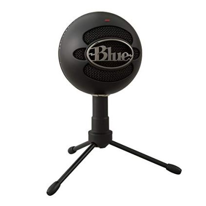Blue-Snowball-iCE-USB-Mic-for-Recording-and-Streaming-on-PC-and-Mac-Cardioid-Condenser-Capsule-Adjustable-Stand-Plug-and-Play--Black
