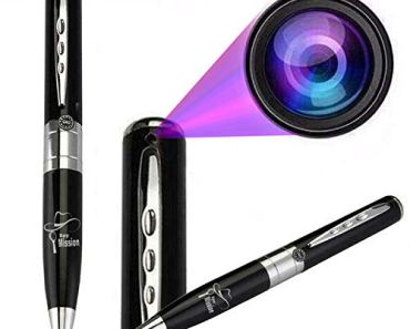 Spy Mission Spy Pen Camera Support 32GB Memory with Home Security Spy Camera Portable Video & Photo Cam Series 1,Ball Pen,Best Security Camera with Video Recording & HD Voice Quality
