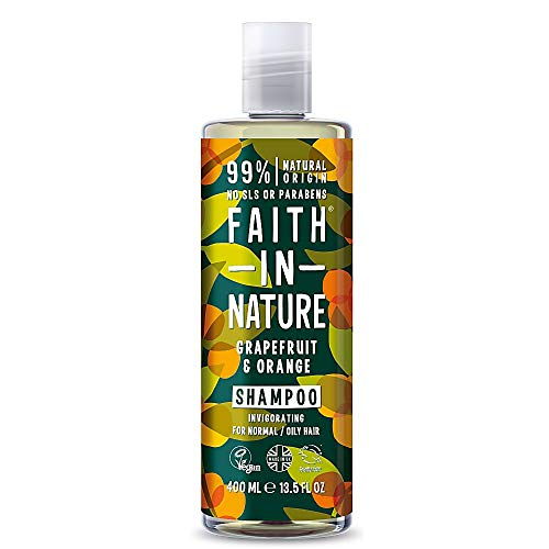 Faith In Nature Grapefruit and Orange Invigorating Shampoo For Normal To Oily Hair 400ml
