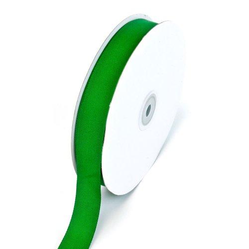 Creative Ideas 7/8-Inch Solid Grosgrain Ribbon, 50-Yard, Emerald Green