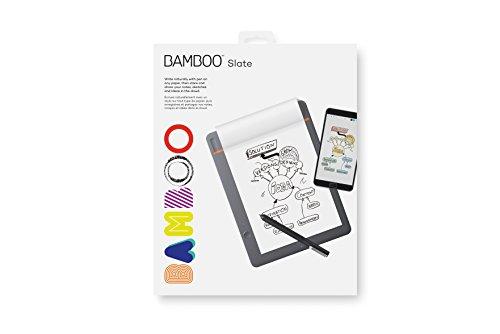 Wacom Bamboo Slate Smartpad Digital Notebook, Small (A5/Half Letter Size), CDS610S