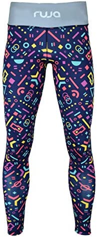 Ruja Women's Pro Purple Athletic Training Workout Fitness Yoga Pants (Leggings) 1
