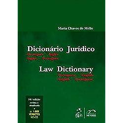 Dicionário Jurídico. Português-Inglês / Inglês-Português