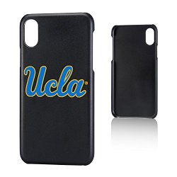 Keyscaper NCAA UCLA Bruins Unisex Apple iPhone Slim Caseslim Case, Black, iPhone x