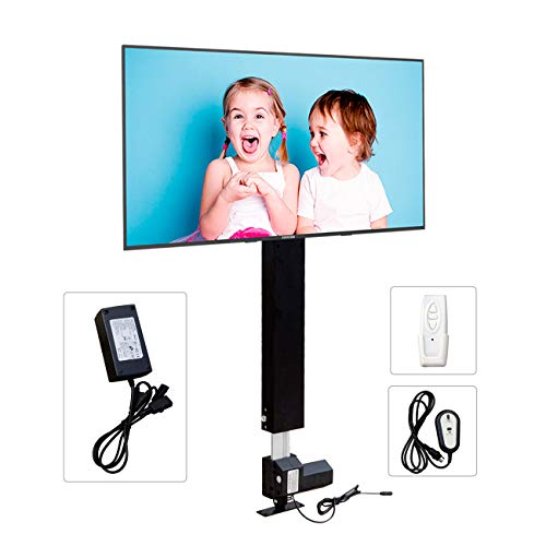 ECO-WORTHY Automations - Motorized Vertical TV Lift for 26-57' TVs - Remote Control for Home Use | Travel Height 37-65''
