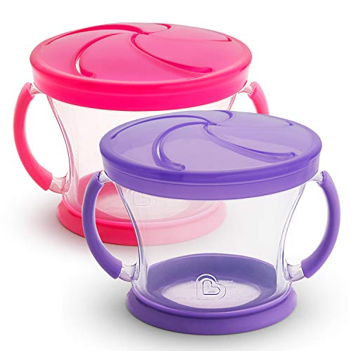 Munchkin Snack Containers 2-Pack - LOW PRICE!