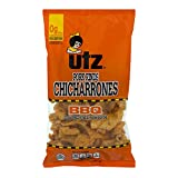 Utz Pork Rinds, Original Flavor - Keto Friendly Snack with Zero Carbs per Serving, Light and Airy Chicharrones with the Perfect Amount of Salt, 18 oz. Barrels (2 Pack)