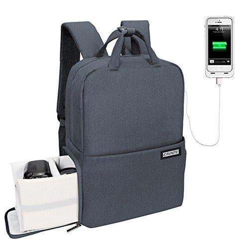 Camera Backpack DSLR/SLR Camera Bag Travel Outdoor Waterproof Tablet Laptop Bag for Sony Canon Nikon
