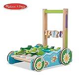 "Melissa & Doug First Play Chomp & Clack Alligator Push Toy (Developmental Toy, 15"" H x 15"" W x 11.75"" L)"