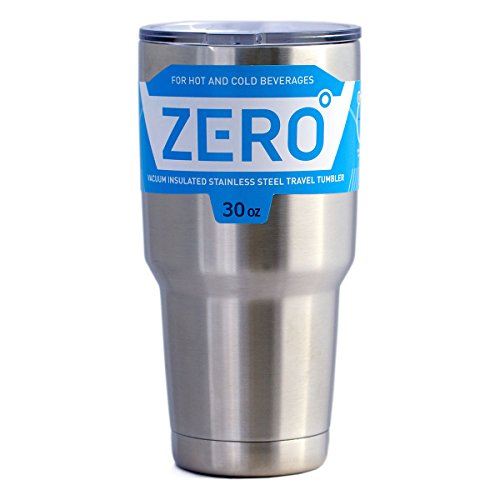 Stainless Steel Tumbler with Lid, Double Wall Vacuum Insulated Travel Mug for Hot and Cold Drink by Zero Degree (30oz)