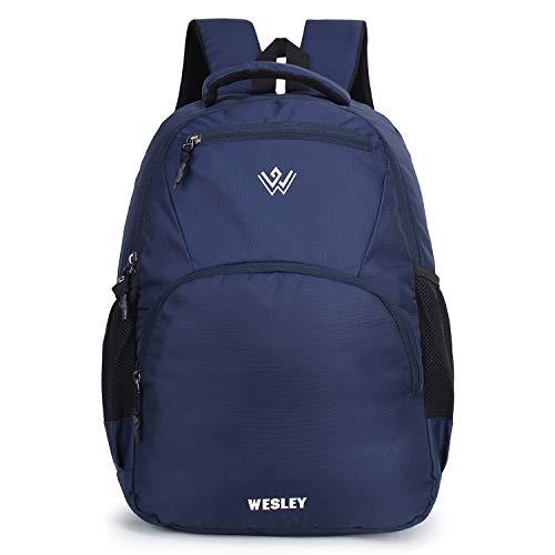 41H4YsIdxDL - Wesley Matrix 15.6 inch 35L Casual Waterproof Laptop Backpack/Office Bag/School Bag/College Bag/Business Bag/Unisex Travel Backpack