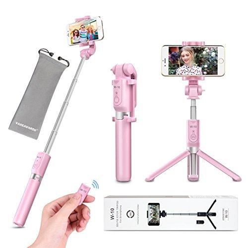 Selfie Stick Tripod with Remote...