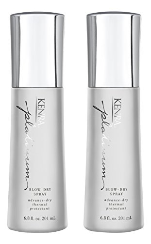 Kenra Platinum Blow-Dry Spray, 6.8 Fluid Ounce, Pack of 2