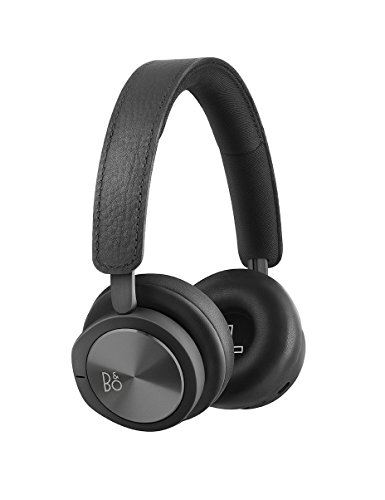 B&O PLAY by Bang & Olufsen Beoplay H8i Wireless Bluetooth On-Ear Headphones with Active Noise Cancellation (ANC), Transparency mode and Microphone Black