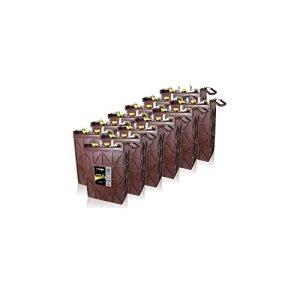 12x Trojan L16RE-2V Renewable Energy 2V Deep Cycle Battery 1110Ah FAST USA SHIP
