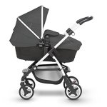 A complete Pram system that includes everything you need from birth to toddler Includes a lie-flat Carrycot for your new born that is suitable for overnight sleeping Includes a fully, reversible Pushchair seat unit, suitable up to 25kg