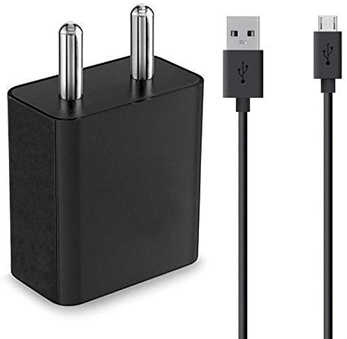 Zedox Charger for Xiaomi Mi Max Android Smartphone Charger |Fast Charger | Hi Speed Travel Charger with 1m Micro USB Cable (2 Ampere, Black) 145