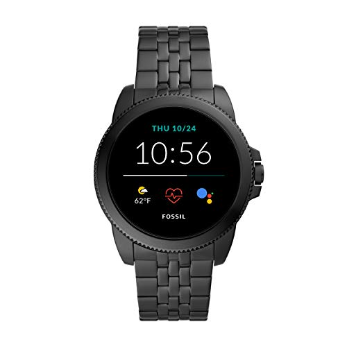 Fossil-Mens-Gen-5E-44mm-Stainless-Steel-Touchscreen-Smartwatch-with-Speaker-Heart-Rate-Contactless-Payments-and-Smartphone-Notifications