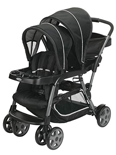 Graco Ready2Grow Click Connect Stand and Ride Stroller, Onyx