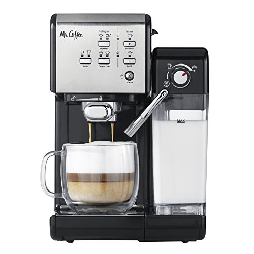 Mr-Coffee-One-Touch=CoffeeHouse=Espresso=Maker-Cappuccino-Machine