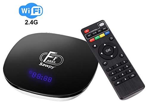 Sawpy A95X F1 Android TV Box 2GB RAM +16GB ROM Android 7.1 4K Smart TV Box 64bit Quad-core Cortex-A53