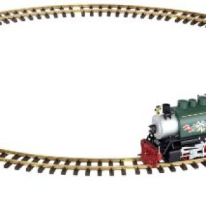 Piko 37105–Model Railway, Christmas Train with rails, G Scale 41HRPef2ZBL
