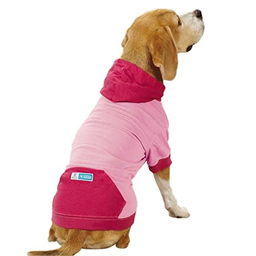 Guardian Gear Insect Shield Pullover Pet Apparel, Medium, Pink 1