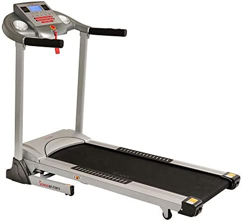 Sunny Health & Fitness Electric Folding Treadmill with Auto Incline 2