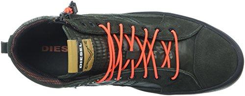 41HST3N87ZL Mid top fashion sneaker Vulcanized outsole