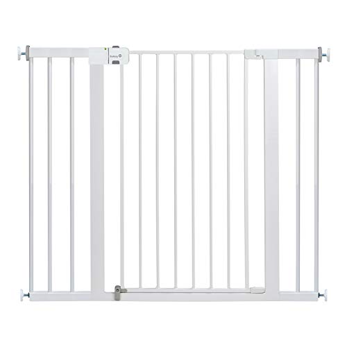Safety 1st Easy Install Extra Tall and Wide Baby Gate with Pressure Mount Fastening, Pack of 1