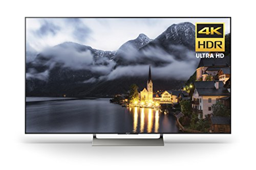 Sony XBR49X900E 49-Inch 4K Ultra HD Smart LED TV (2017 Model), Works with Alexa