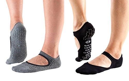 Tavi Noir Chey Grip Socks for Barre,...