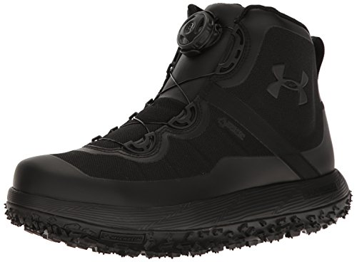 Under Armour Men's Fat Tire GORE-TEX, Black (001)/Black, 11