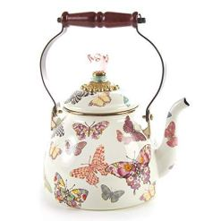 MacKenzie-Childs Butterfly Tea Kettle