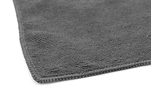 (12-Pack) 16 in. x 16 in. Commercial Grade All-Purpose Microfiber Highly Absorbent, LINT-Free, Streak-Free Cleaning Towels – THE RAG COMPANY (Grey) deal 50% off 41Hf76TyACL