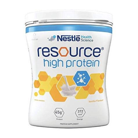 Nestle Resource High Protein – 400g Tin (Vanilla Flavor)