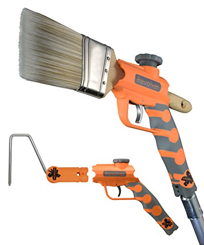 McCauley Tools -REVOLVER- Multi Position Paint Brush and Paint Roller Extender for threaded AND locking poles.