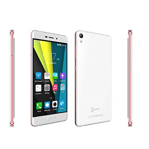 New Trend! Kenxinda R6 5.2 Inch FHD Screen MTK6753 Bluetooth 4.0 Ultrathin Smartphone (Rose gold)