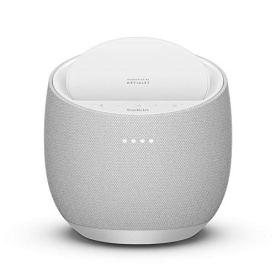 Belkin-SoundForm-Elite-Hi-Fi-Smart-Speaker-Wireless-Charger-Voice-Controlled-Bluetooth-Speaker-Sound-Technology-By-Devialet-White